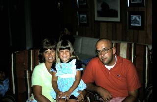 Carole, Christi, Ken - summer 1975